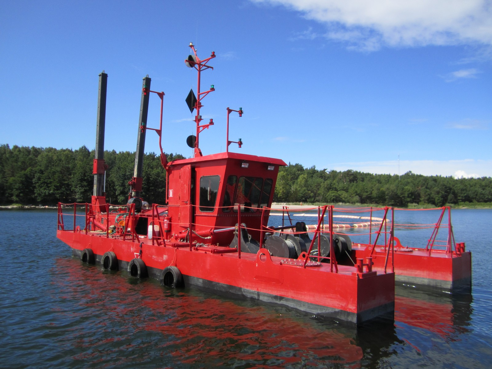 What is a dredge?